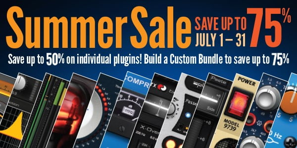 Plugin Alliance Summer Sale