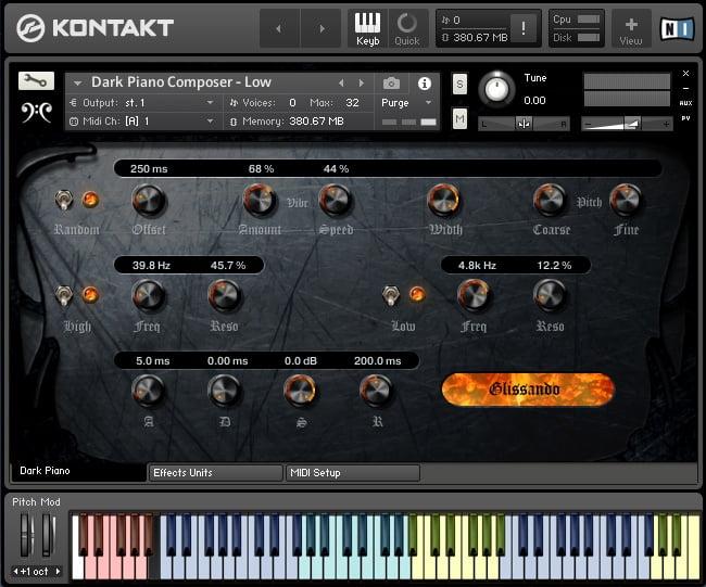 Replika Sound Dark Piano Composer Edition