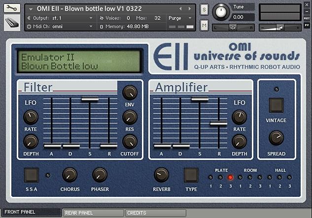 Rhythmic Robot OMI-EII Universe of Sound Vol 1