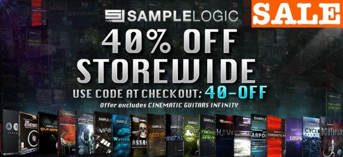 Sample Logic Storewide Sale
