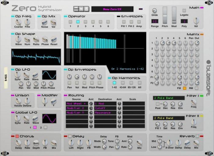 Blamsoft Zero Hybrid Synthesizer