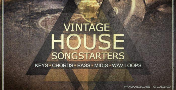 Famous Audio Vintage House Songstarters