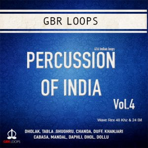 GBR Loops Percussion of India Vol 4