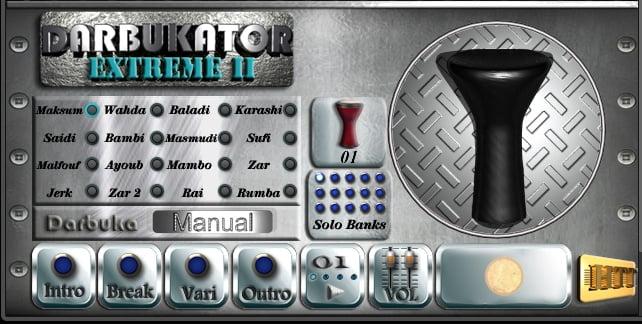 HTTMusic Darbukator Extreme II