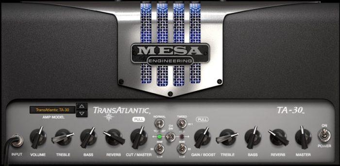 IK Multimedia AmpliTube MESA AMP TransAtlantic TA-30