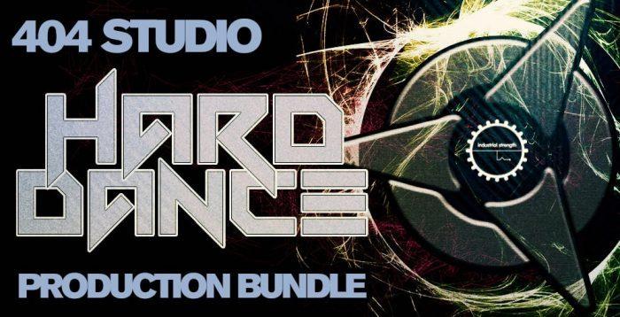Industrial Strength 404Studio Hard Dance Production Bundle