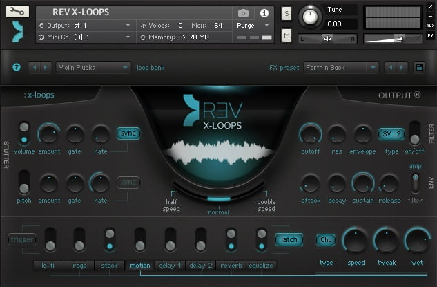 Output REV X-LOOPS 2