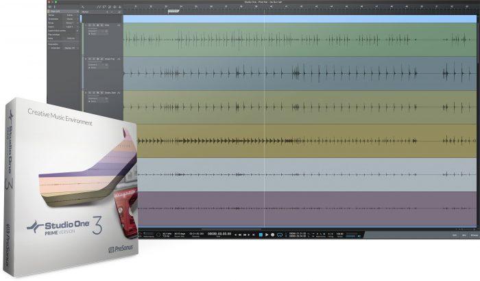 PreSonus Studio One 3 Prime