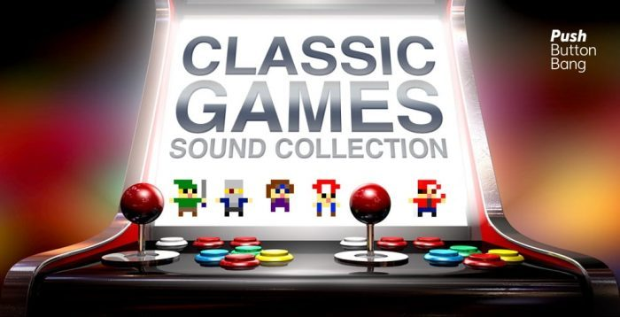 Push Button Bang Classic Games Sound Collection