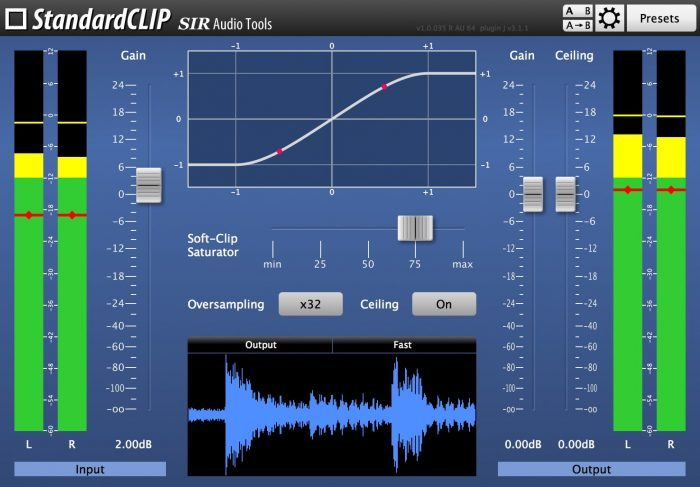 SIR Audio Tools StandardCLIP