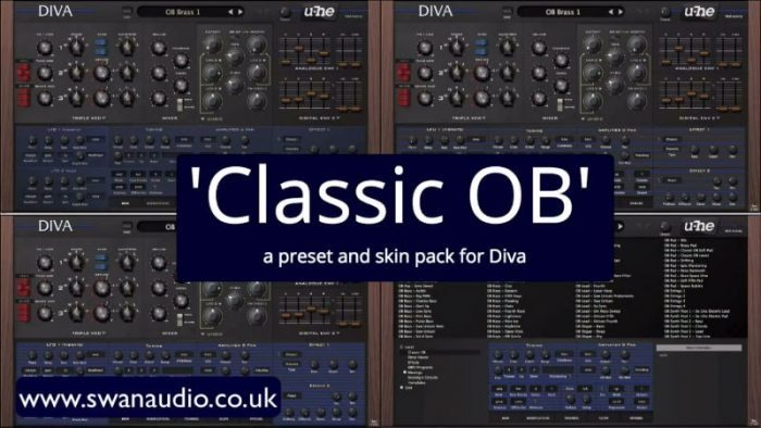 Swan Audio Classic OB for Diva