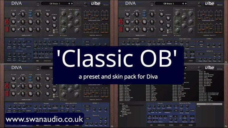 Classic ob for u he diva released by swan audio - U he diva ...