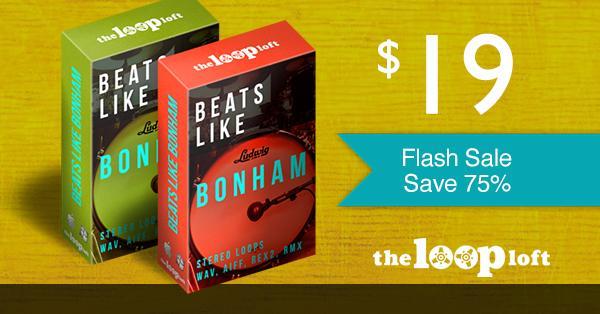 75% off Beats Like Bonham Bundle at The Loop Loft