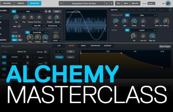 ADSR Sounds Alchemy Masterclass