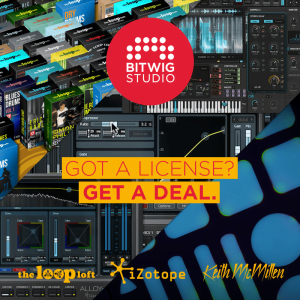 Bitwig Studio cross deal