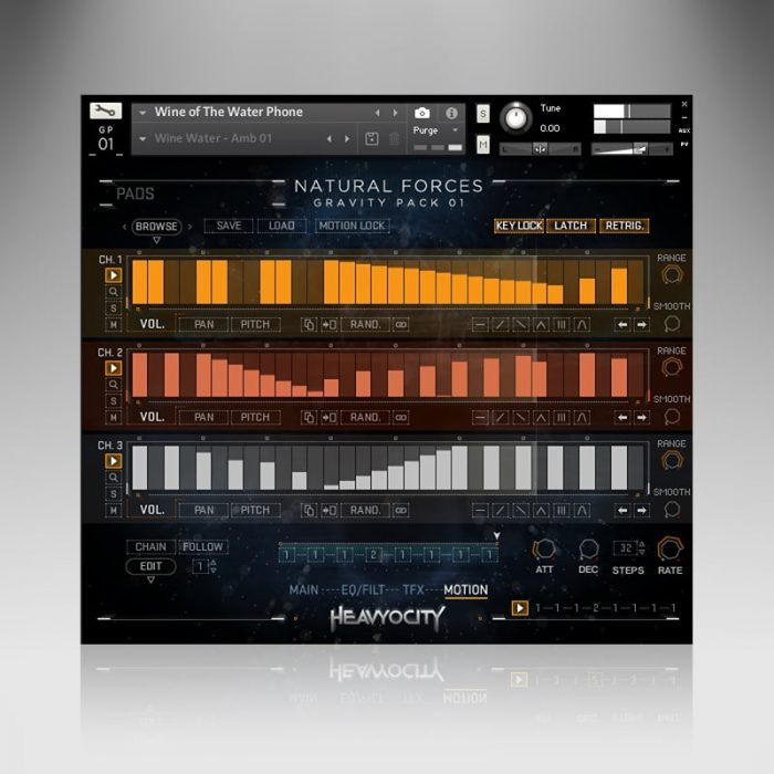 Heavyocity NaturalForces Interface Motion