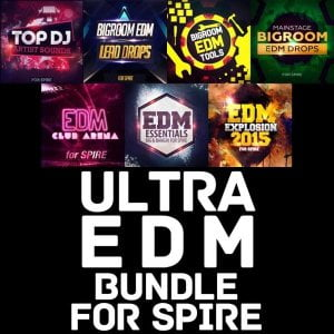 Mainroom Warehouse Ultra EDM Bundle for Spire