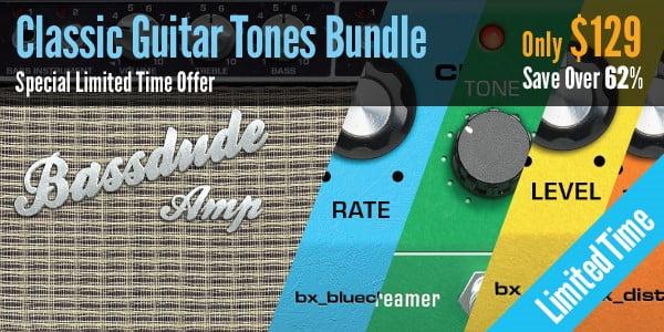 62% off on Brainworx Classic Guitar Tones Bundle