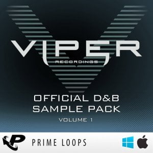 Prime Loops Viper Recordings Official D&B Sample Pack