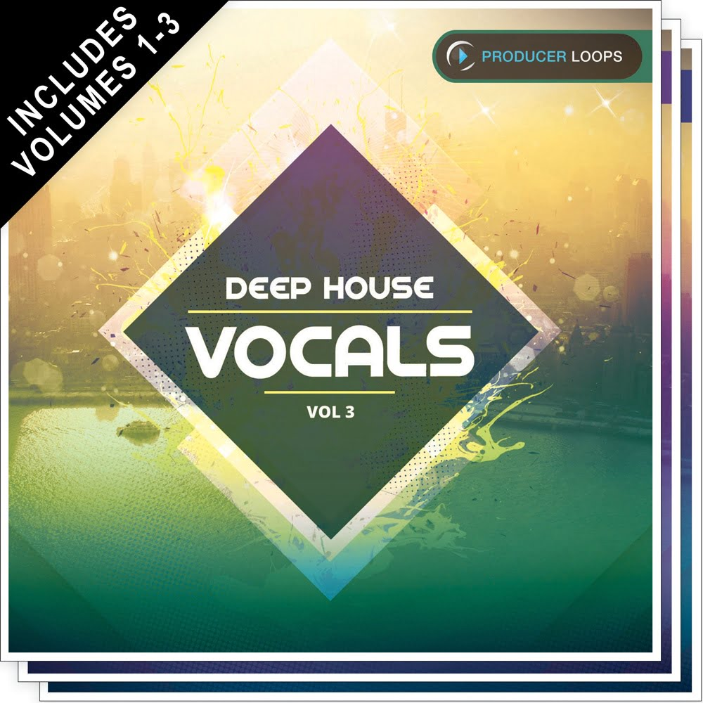 Deep house vocals bundle by producer loops for Vocal house music 2015