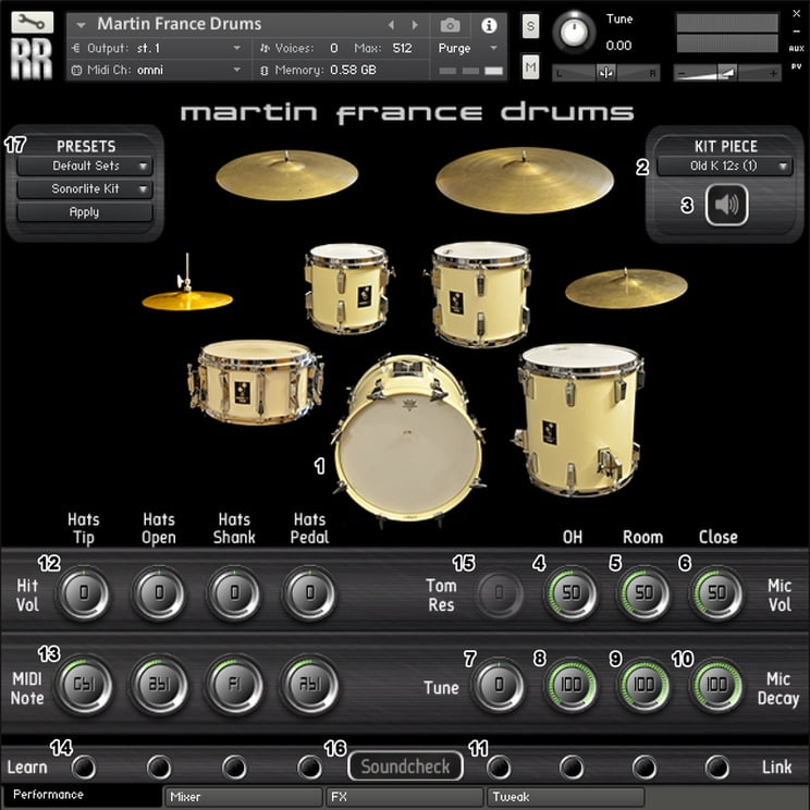 Martin France Drums By Rattly And Raw Released