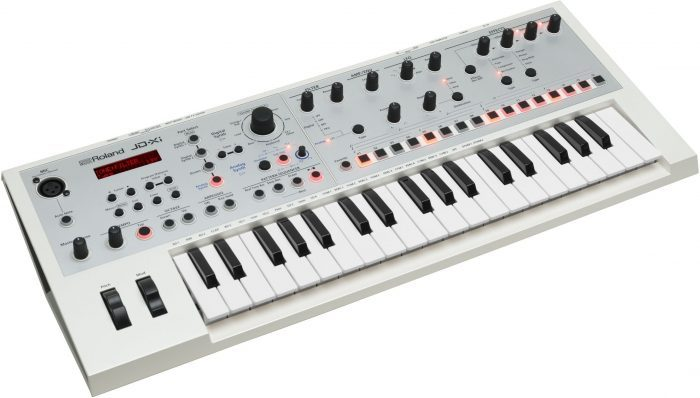 Roland JD-Xi limited edition white angle