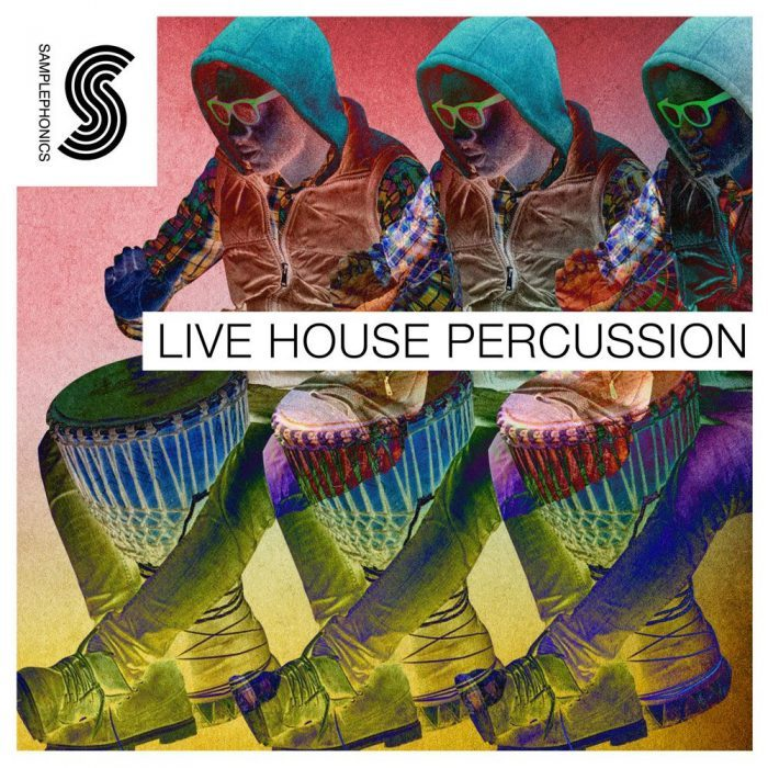 Samplephonics Live House Percussion