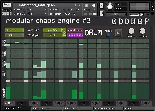 Sound Dust OddHop