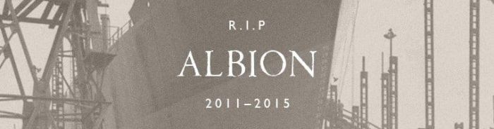 Spitfire RIP Albion