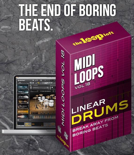 the loop loft linear drums vol 3 midi grooves released. Black Bedroom Furniture Sets. Home Design Ideas