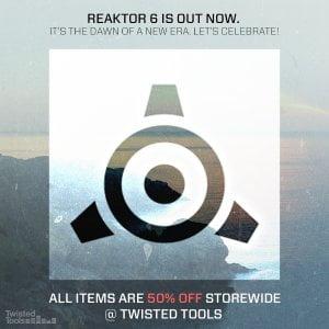 Twisted Tools Reaktor 6 sale
