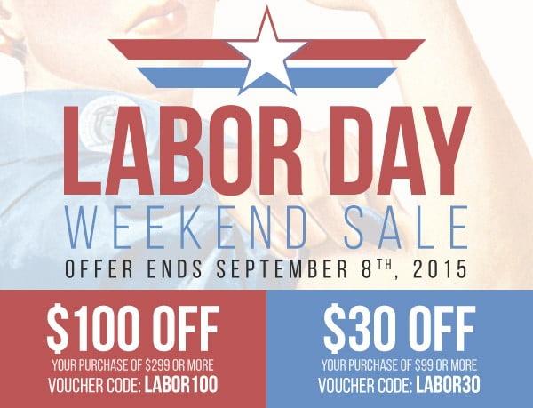 UVI Labor Day Sale