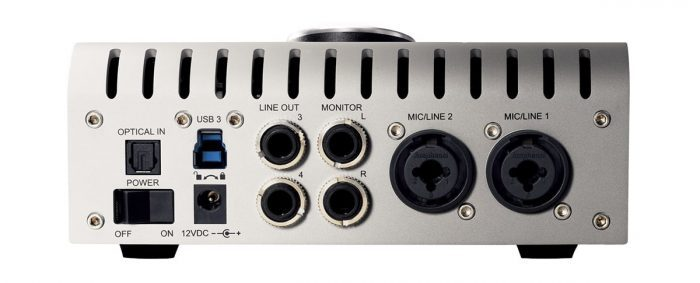 Universal Audio Apollo Twin USB back