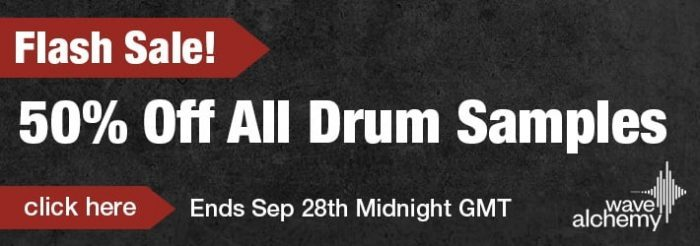 Wave Alchemy drum sample sale