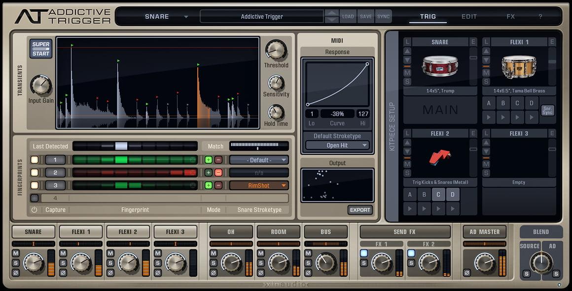 xln audio addictive trigger ds 10 drum shaper released. Black Bedroom Furniture Sets. Home Design Ideas