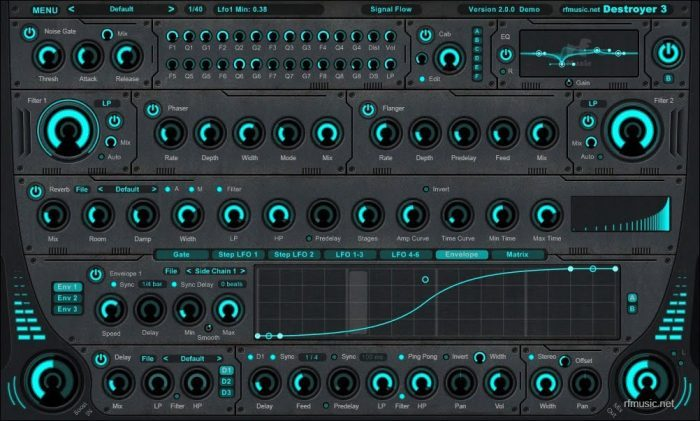 rf Music Destroyer 3 cyan