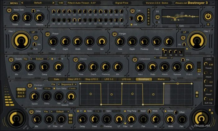 rf Music Destroyer 3 yellow