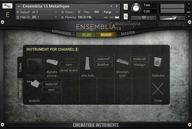 Cinematique Instruments Ensemblia Metallique 02