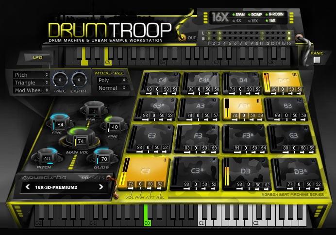 DUBturbo DrumTROOP