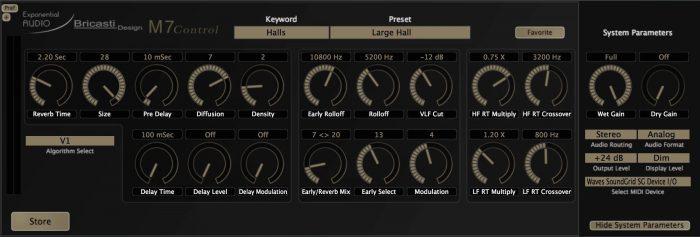 Exponential Audio M7 Control