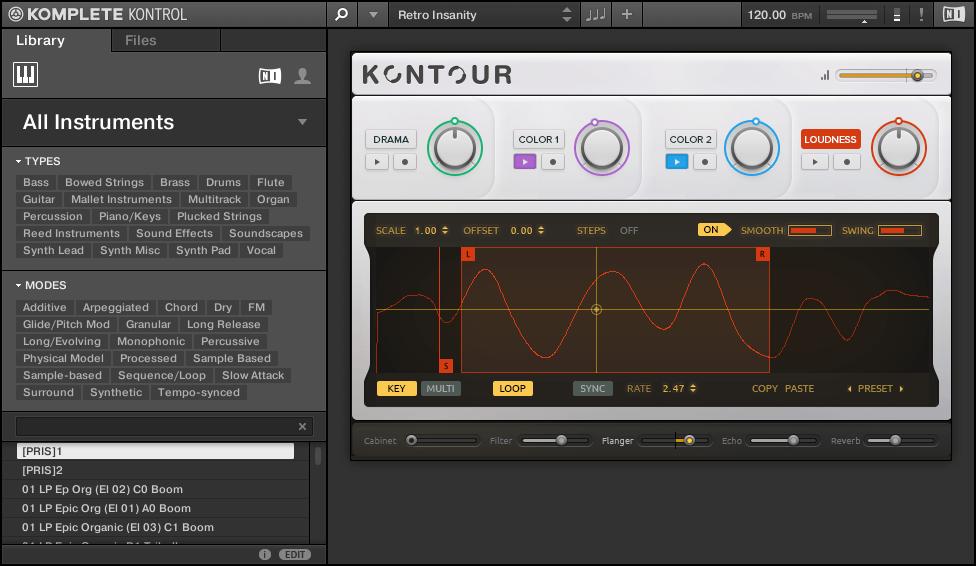 Komplete Kontrol with Kontour