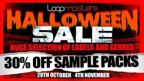 Loopmasters Halloween Sale