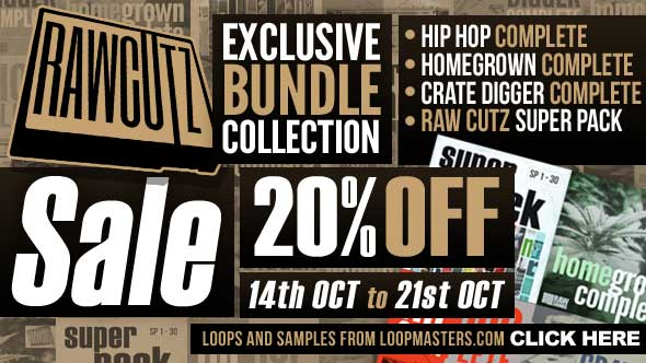 Loopmasters Raw Cutz Sale