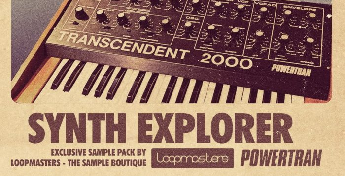 Loopmasters Synth Explorer Transcendent 2000