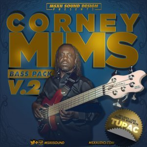 MSXII Sound Design Corney Mims Bass Pack Vol 2