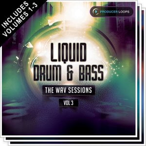 Producer Loops Liquid DnB WAV Sessions Bundle