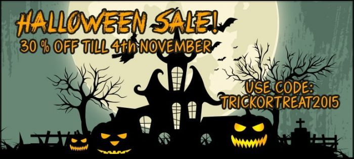 Resonance Sound Halloween Sale