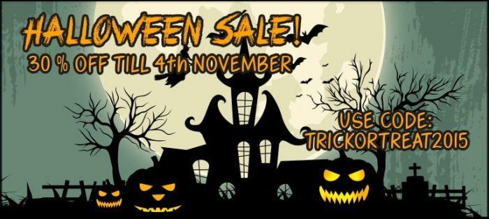 Resonance Sound Halloween Sale