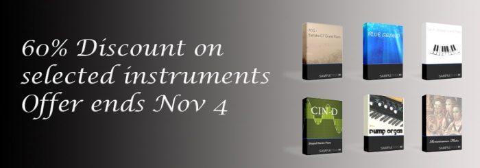 SampleTekk Sale Nov 4