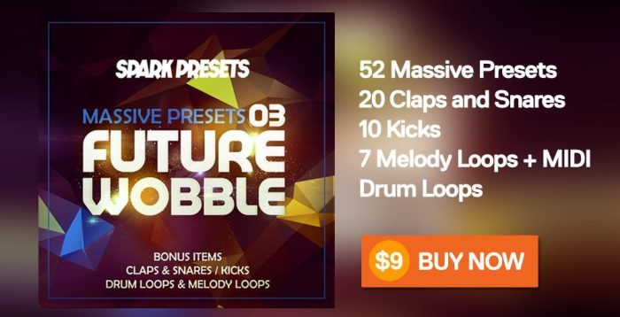 Spark Presets Future Wobble Massive Presets sale